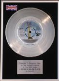 "Smokey 7"" Platinum Disc - If you think you know how to love me"